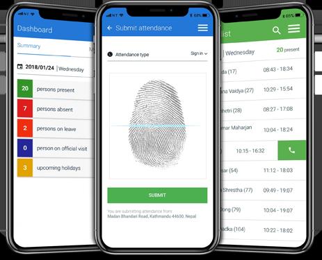 HR App features